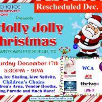 RESCHEDULED Fulshear 2016 Holly Jolly Christmas