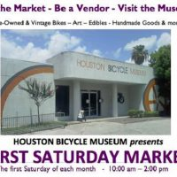 First Saturday Artist Market (at the Houston Bicycle Museum)