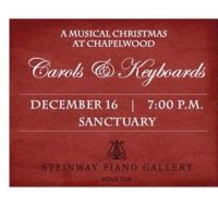 Carols and Keyboards