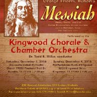 George Frideric Handel's Messiah (The Kingwood Chorale and Chamber Orchestra)