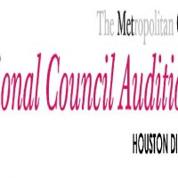 6th Annual Houston District Auditions of the Metropolitan Opera National Council