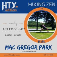 HTXO Hiking Zen with Lone Star Yoga