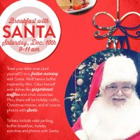 Breakfast with Santa at Hotel Derek