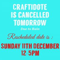 8th Annual Craftidote: The Craft and Makers Market at Antidote Coffee Shop RESCHEDULED