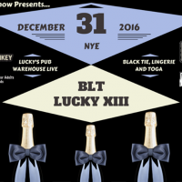 The BLT (Black Tie, Lingerie, Toga) XIII New Year's Eve Party