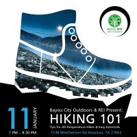 BCO & REI present: Hiking 101: All temperatures & Easy Essentials