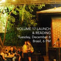 Glass Mountain Volume 17 Launch Party and Reading