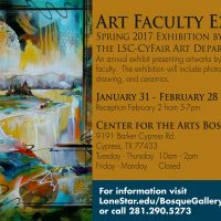 Lone Star College-CyFair Art Faculty Exhibition