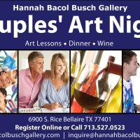 Couples' Art Night, Wine, Food, & Painting