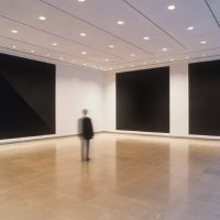 Sol LeWitt: Glossy and Flat Black Squares (Wall Drawing 813), 1997