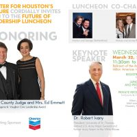 2017 Future of Leadership Luncheon (with keynote speaker Dr. Robert Ivany)
