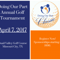 Inaugural Doing Our Part Golf Classic