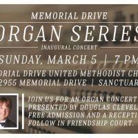 Memorial Drive Organ Series - Inaugural Concert