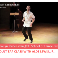 Adult Tap Class with Alde Lewis, Jr. (Tuesdays)