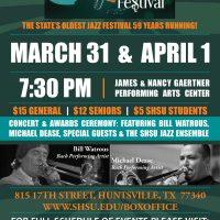 7th Annual SHSU Bill Watrous Jazz Festival