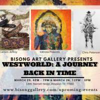 Group Art Exhibition: Westworld, A Journey Back In Time