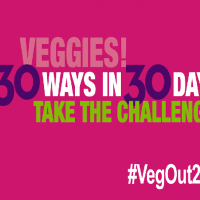 Veg Out! During National Nutrition Month - Veggie Party