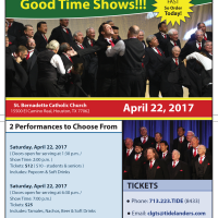 The Houston Tidelanders: 2017 Clear Lake Area Good Time Shows