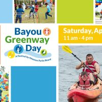 Third Annual Bayou Greenway Day