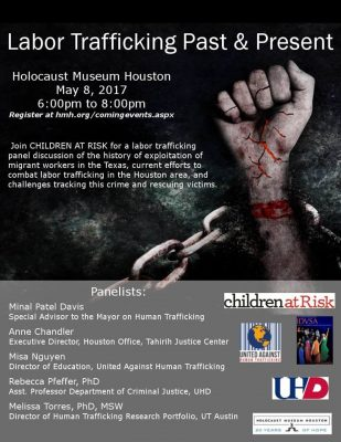 """Labor Trafficking Past & Present"""" Panel Discussion 