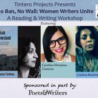 No Ban, No Wall: Women Writers Unite
