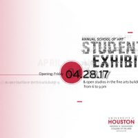 UH School of Art Annual Student Exhibition