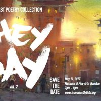 Iconoclast Poetry Performance & They Say Book Release