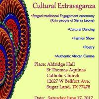 A Cultural Extravaganza