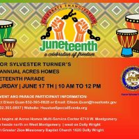 Mayor Sylvester Turner's Annual Acres Homes Juneteenth Parade
