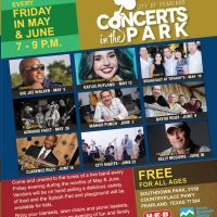 Pearland Concerts in the Park (Fridays in Southdown Park)