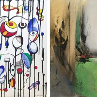 "Two Solo Exhibitions:  ""A Treatise on Love"" by Ann Marie Vancas and ""Whispers"" by Maryam Lavaf"