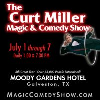 The Curt Miller Magic & Comedy Show 2017 at Moody Gardens