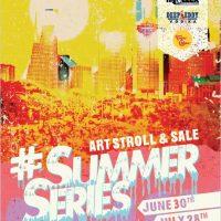 Sawyer Yards Summer Series Biannual Art Stroll & Sale (July)
