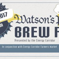 Watson's Pub Brew Fest (and the Energy Corridor Farmers Market)