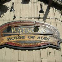 Whiskey Tasting at Watson's House of Ales