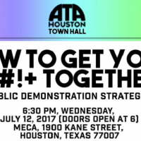 Artist Town Hall: How to Get Your $#!+ Together - Public Demonstration Strategies