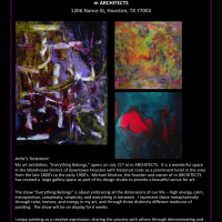 Joy Kelly - Everything Belongs (Abstract Art Exhibition)