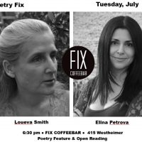Poetry Fix: Loueva Smith & Elina Petrova