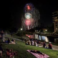 Annual Red Hot & Blue Festival and Fireworks Extravaganza