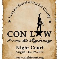 Night Court 2017: Con Law - From the Beginning