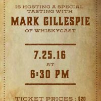 Special Tasting with Whiskycast's Mark Gillespie at Reserve 101