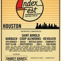 Index Fest Houston 2017 (formerly Untapped Festival Houston)  UPDATED