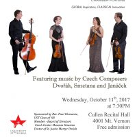 Apollo Chamber Players present Music by Czech Composers