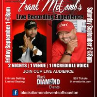 Frank McComb's Live Recording Experience