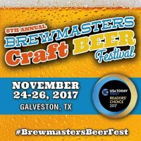 8th Annual BrewMasters Craft Beer Festival RESCHEDULED DUE TO HURRICANE HARVEY