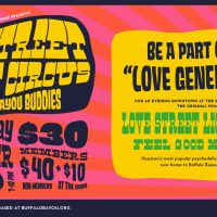 Love Street Light Circus RESCHEDULED DUE TO HURRICANE HARVEY