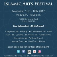 4th Annual Islamic Arts Festival