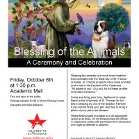 Blessing of the Animals at UST