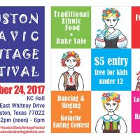 54th Annual Sts. Cyril & Methodius Houston Slavic Heritage Festival