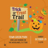 Trick or Treat Trail (in The Woodlands)